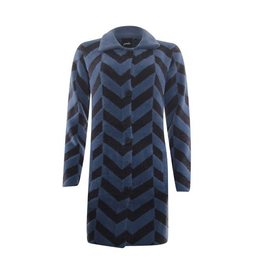 Poools ladieswear pullovers & vests - cardigan jacquard. available in size 42,44 (blue)