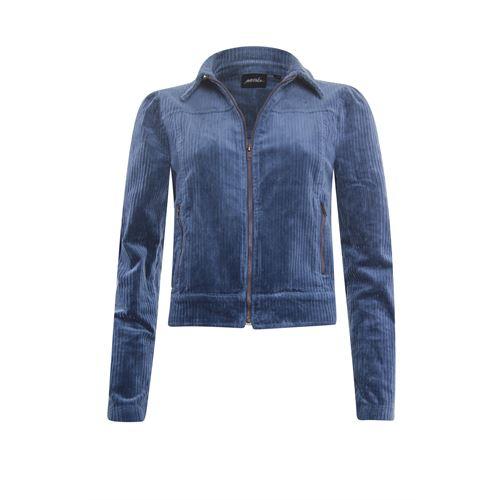 Poools dameskleding jassen & blazers - jasje rib. beschikbaar in maat 44 (blauw)