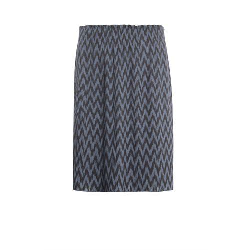 Poools dameskleding rokken - rok print. beschikbaar in maat 36,38,40,42,44,46 (bruin)