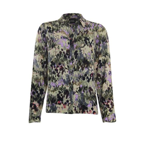 Poools ladieswear blouses & tunics - blouse print. available in size 40,44 (multicolor)
