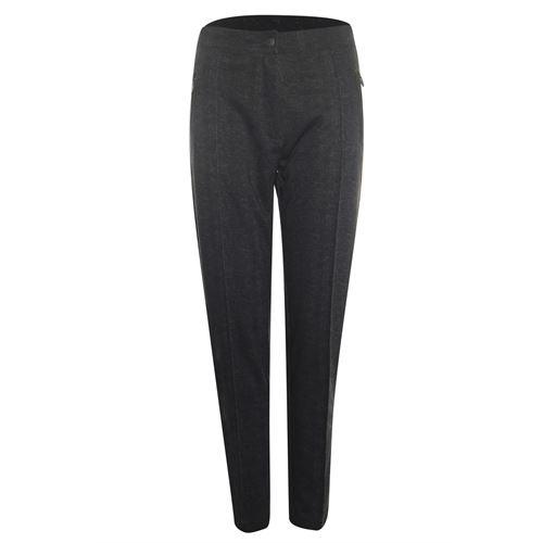Poools dameskleding broeken - broek washed effect. beschikbaar in maat 44,46 (bruin)