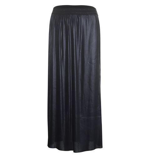 Poools dameskleding rokken - rok coated. beschikbaar in maat 36,38,40,42,44,46 (zwart)