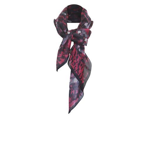 Poools dameskleding accessoires - shawl square. beschikbaar in maat one size (zwart)