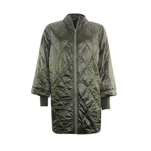 Poools dameskleding jassen & blazers - jas gestept. beschikbaar in maat 40,42 (olijf)