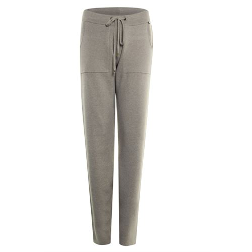 Poools ladieswear trousers - pant knitted. available in size 36,38,40,42,44,46 (off-white)