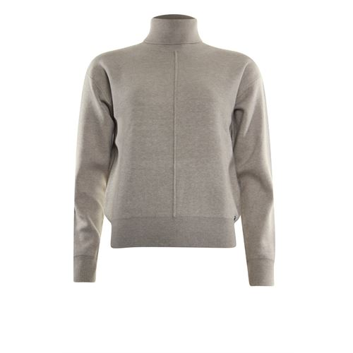 Poools ladieswear pullovers & vests - sweater rollcollar. available in size 42,44,46 (off-white)