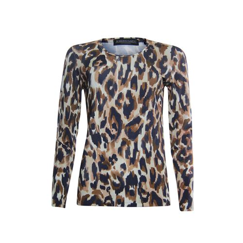 Roberto Sarto ladieswear t-shirts & tops -  T-shirt. Available in size  (blue,brown)