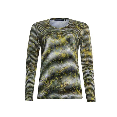 Roberto Sarto ladieswear t-shirts & tops -  T-shirt. Available in size  (olive,yellow)
