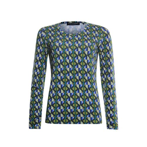 Roberto Sarto ladieswear t-shirts & tops -  T-shirt. Available in size  (blue,olive,yellow)