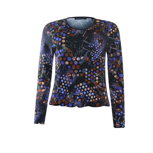 Roberto Sarto ladieswear t-shirts & tops -  Blouson. Available in size  (blue,brown)