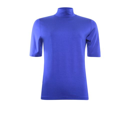 Roberto Sarto ladieswear t-shirts & tops -  T-shirt turtle, short sleeve. Available in size 48 (blue)