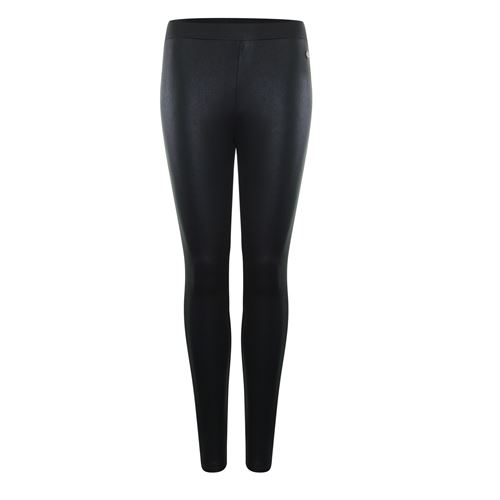 Anotherwoman ladieswear trousers -  Legging coated. Available in size 36,44 (black)