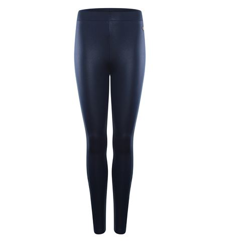 Anotherwoman ladieswear trousers -  Legging coated. Available in size 36,38,40,42,44,46 (blue)