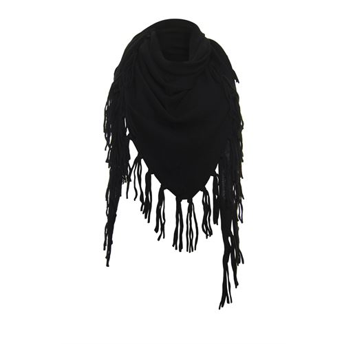 Anotherwoman ladieswear accessories -  Triangle Scarf. Available in size One size,Size one (black)