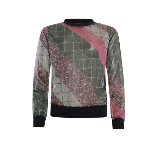 Poools ladieswear pullovers & vests -  Sweater print mix. Available in size 36,38,40,42,44 ()