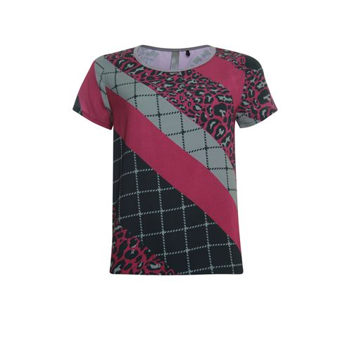 Poools ladieswear blouses & tunics -  Blouse printed. Available in size 36,38,40,44,46 ()
