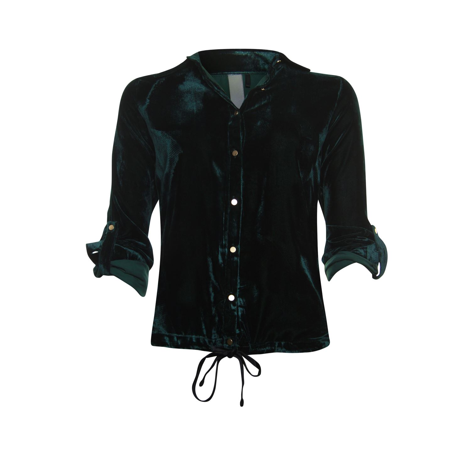 Image of Blouse velvet