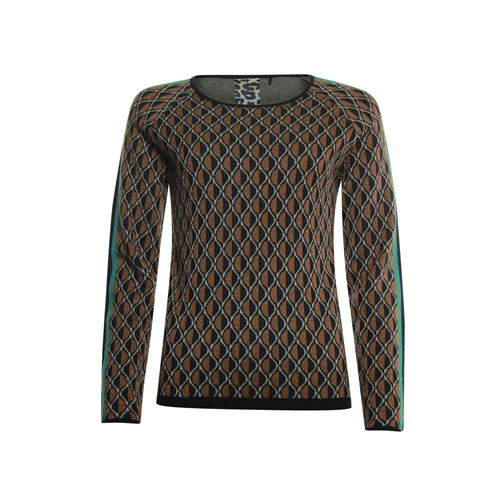 Poools ladieswear pullovers & vests -  Pullover jacquard. Available in size 38,40,42,44 ()