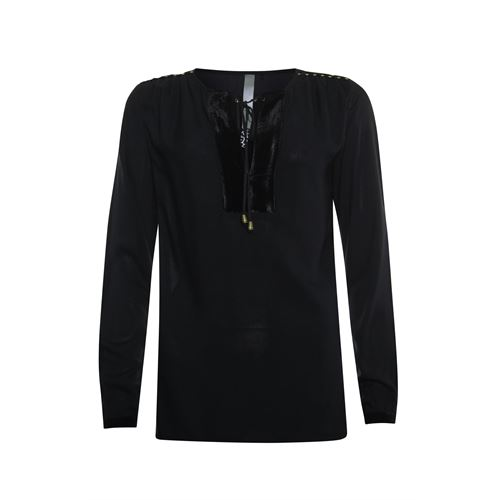 Poools ladieswear blouses & tunics -  Blouse studs. Available in size 36,40,44 (black)