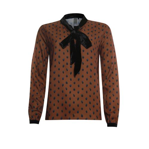 Poools ladieswear blouses & tunics -  Blouse scarf. Available in size 36,38,40,42,44,46 ()