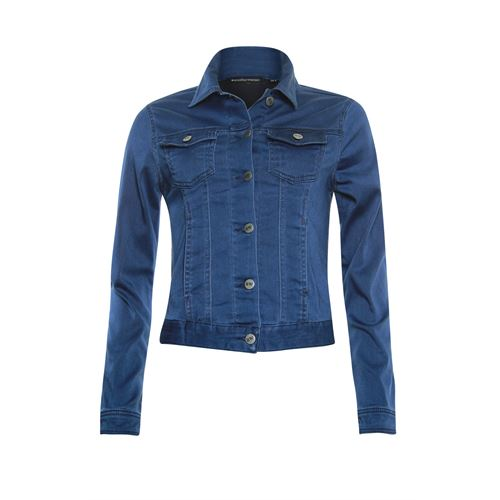 Anotherwoman ladieswear coats & jackets -  Denim jacket. Available in size  (blue,multicolor)
