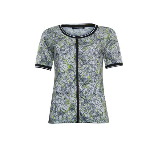 Anotherwoman ladieswear t-shirts & tops -  Blouson. Available in size 36,38,40,42,44,46 (black,multicolor,off-white,olive)