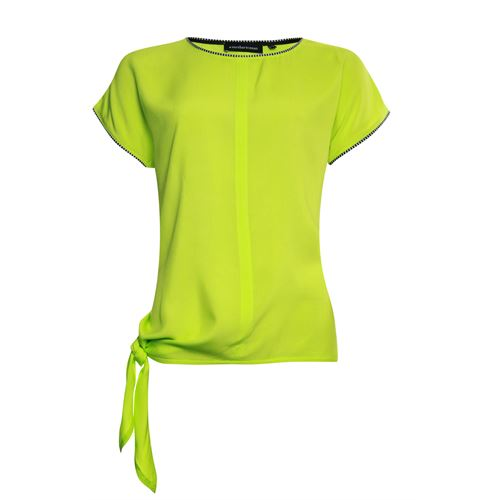 Anotherwoman ladieswear t-shirts & tops -  T-shirt. Available in size 36,38,40,42,44 (olive)