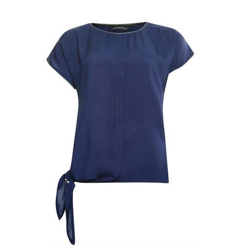 Anotherwoman ladieswear t-shirts & tops -  T-shirt. Available in size 36,38,40,42,44 (blue)