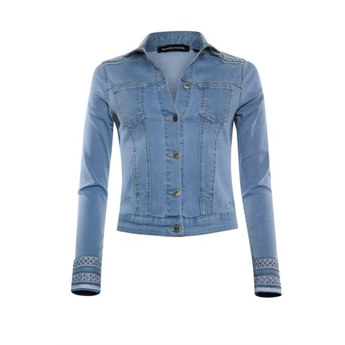 Anotherwoman ladieswear coats & jackets -  Denim jacket. Available in size 36,38,40,42,44,46 (blue,multicolor)
