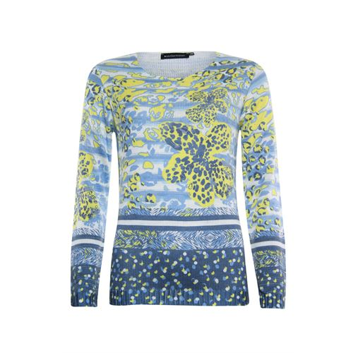 Anotherwoman ladieswear pullovers & vests -  Pullover. Available in size 36,38,44 (blue,multicolor,off-white,yellow)