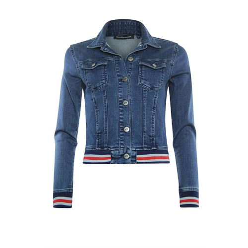 Anotherwoman ladieswear coats & jackets -  Jacket denim. Available in size 36,38,40,42,44,46 (blue,multicolor)