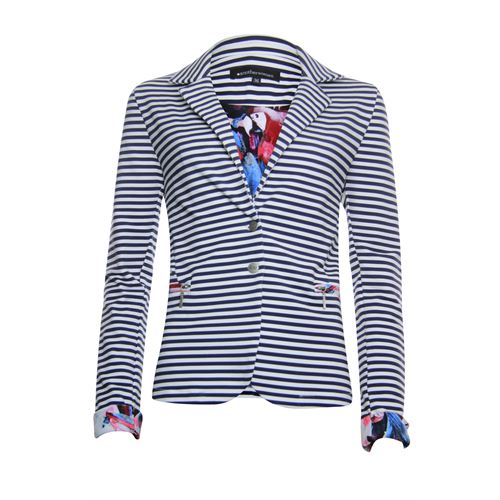 Anotherwoman ladieswear coats & jackets -  Blazer. Available in size 36,38,40,42,44,46 (blue,multicolor,off-white)