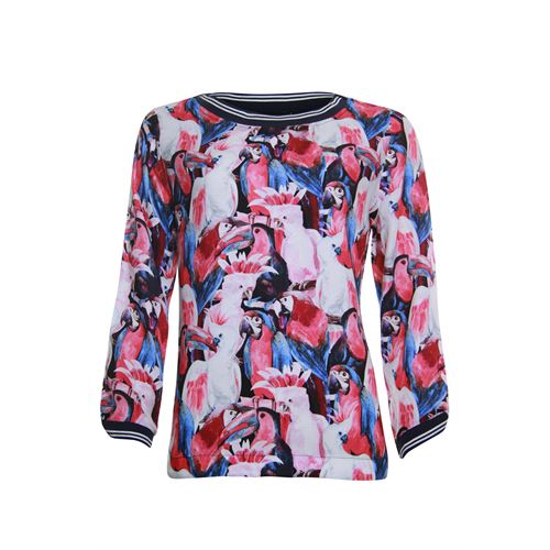 Anotherwoman ladieswear blouses & tunics -  Blouse. Available in size 36,38,40,42,44,46 (blue,multicolor,off-white,red)