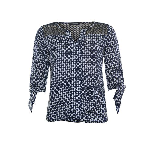 Anotherwoman ladieswear blouses & tunics -  Blouse. Available in size 36,38,40,42 (blue,multicolor,off-white)