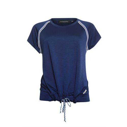 Anotherwoman ladieswear t-shirts & tops -  T-shirt. Available in size 36,38,40,42,44,46 (blue)