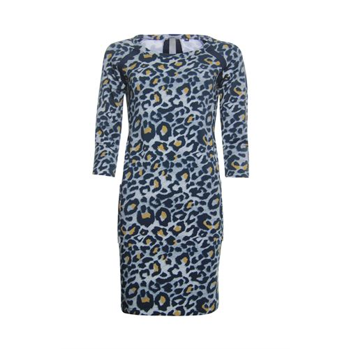 Poools ladieswear dresses -  Dress printed. Available in size 36,38,42,44,46 (blue,brown,multicolor)