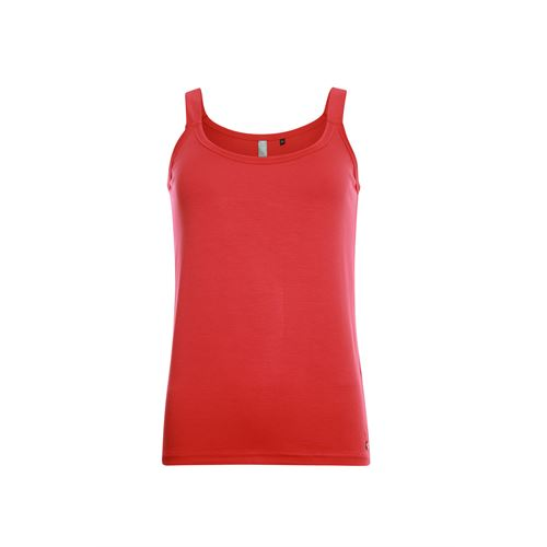 Poools ladieswear t-shirts & tops -  Singlet plain. Available in size 36,38,40,42,44 (red)