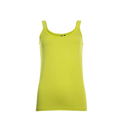 Poools ladieswear t-shirts & tops -  Singlet plain. Available in size 36,38,40,42,44,46 (yellow)