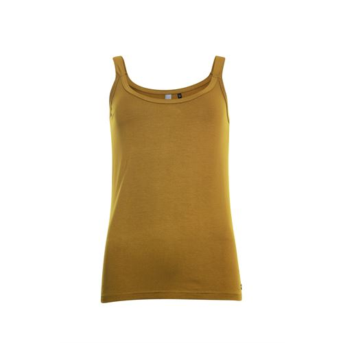 Poools ladieswear t-shirts & tops -  Singlet plain. Available in size 36,38,40,42,44,46 (brown)