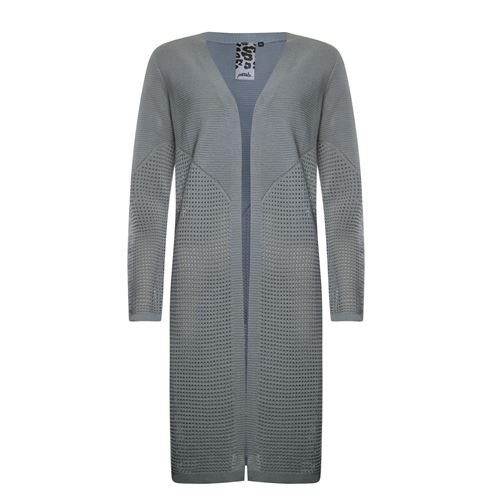 Poools ladieswear pullovers & vests -  Cardigan long. Available in size 36,44,46 (grey)