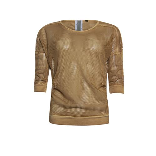 Poools ladieswear t-shirts & tops -  T-shirt washed. Available in size 36,38,40,42,44,46 (brown)