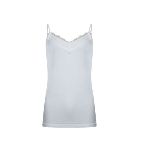 Poools ladieswear t-shirts & tops -  Top lace. Available in size 36,38,40,42,44,46 (off-white)