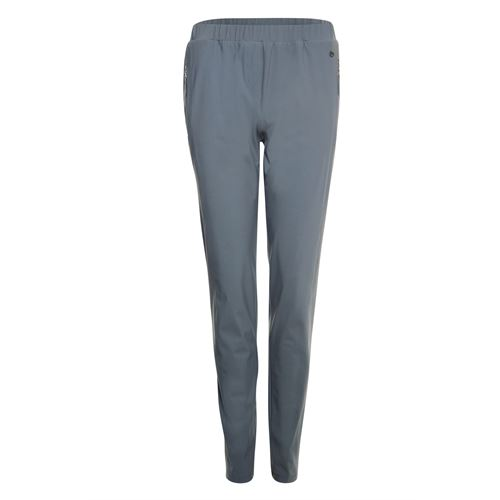 Poools ladieswear trousers -  Pant zip. Available in size 42,44,46 (grey)