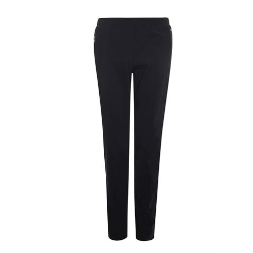 Poools ladieswear trousers -  Pant zip. Available in size 38,40,42,44,46 (black)