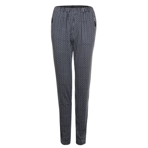 Poools ladieswear trousers -  Pant printed. Available in size 36,38,40,42,44,46 (black,multicolor,off-white)
