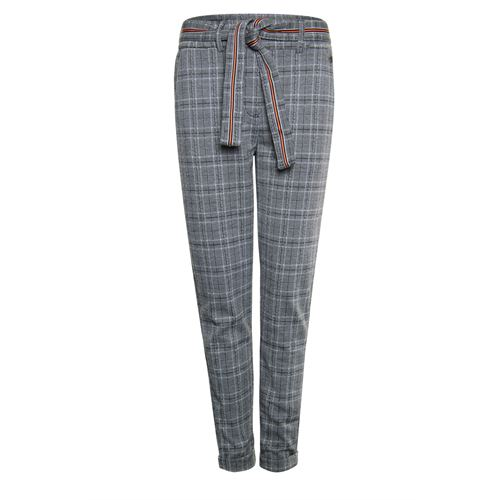 Poools ladieswear trousers -  Pant check. Available in size 38,40,42,44,46 (black,multicolor,off-white,yellow)