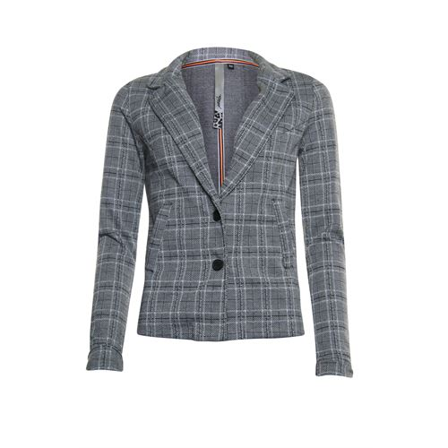 Poools ladieswear coats & jackets -  Jacket check. Available in size 36,38,40,42,44,46 (black,multicolor,off-white,yellow)