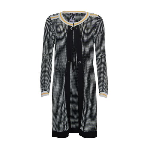 Poools ladieswear pullovers & vests -  Cardigan 2 col.. Available in size 36,38,40,42,44,46 (black)