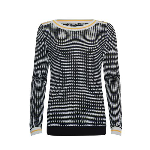 Poools ladieswear pullovers & vests -  Sweater 2 col.. Available in size 36,38,40,42,44,46 (black)