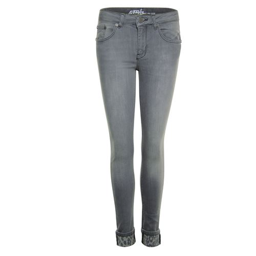 Poools ladieswear trousers -  Jeans 5 pocket. Available in size 36,44,46 (grey,multicolor)